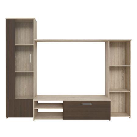 Living Kring Delta, 220 x 178 x 41 cm, Sonoma/Stejar – Review detaliat