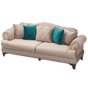 Canapea Bianca extensibila de 3 locuri