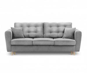 Canapea extensibila 3 locuri Highlife Light Grey