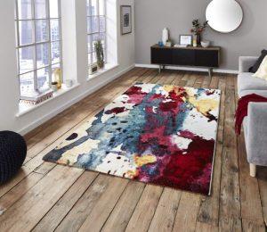 Covor Modern & Geometric Viborg, Multicolor