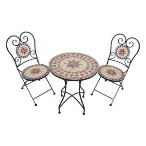 Set masă și 2 scaune de grădină ADDU Amarillo