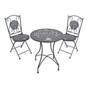 Set masă și 2 scaune de grădină ADDU Royal