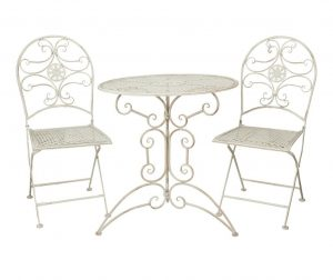 Set masa si 2 scaune pentru exterior Serena