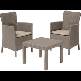 Set mobilier de gradina/balcon, 3 piese, Keter Salvador