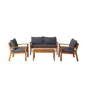 Set mobilier gradina modular Denya